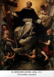 BL. JÁNA LICCIU, KŇAZA (cca 1430–1511)