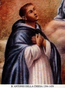BL. ANTONA DELLA CHIESA, KŇAZA (1394–1459)