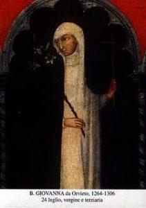 BL. JANY Z ORVIETA, PANNY (1264–1306)