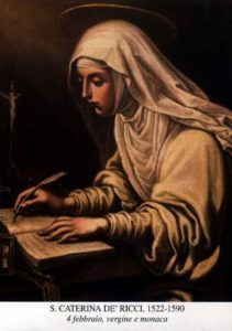 SV. KATARÍNY DE' RICCI, PANNY (1522–1590)