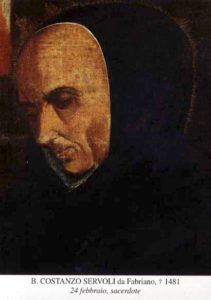 BL. KONŠTANCA Z FABRIANA, KŇAZA († 1481)