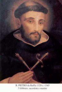 BL. PETRA Z RUFFIA, KŇAZA A MUČENÍKA (1320–1365)
