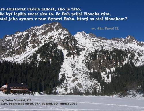 Homília brata Benedikta na slávnosť Zjavenia Pána