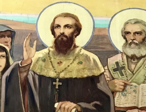 Homília brata Mariána na slávnosť sv. Cyrila a Metoda